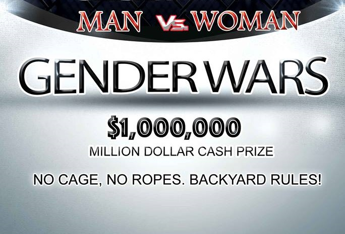 $1M prize to winner of mixed gender MMA bout – Man vs. Woman pay-per-view