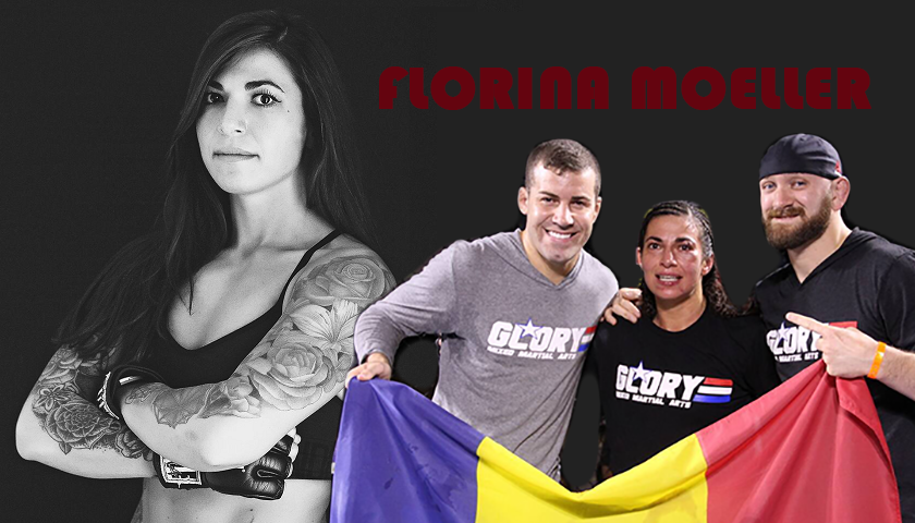 Born in Transylvania on Friday the 13th – Amateur MMA fighter Florina Moeller embraces uniqueness
