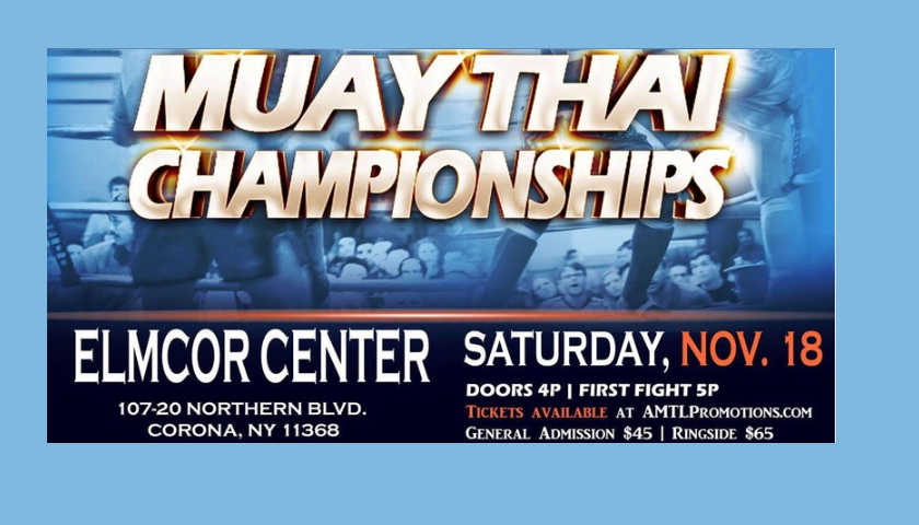 WBC Muay Thai Championships – Corona, New York – November 18