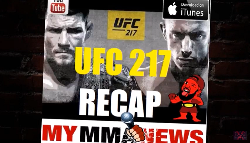 UFC 217 Recap With Pure EVil MMA Podcast