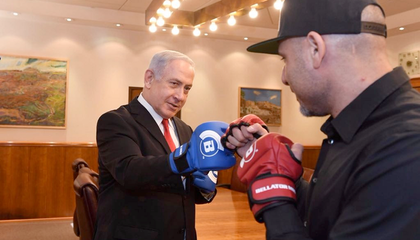 Bellator Fighters Meet With Israeli Prime Minister Netanyahu in Jerusalem