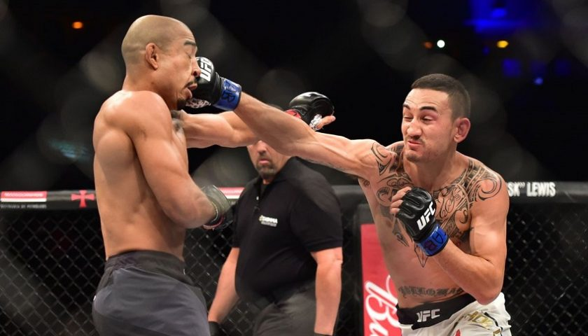 Max Holloway opens as favorite in Jose Aldo featherweight championship rematch