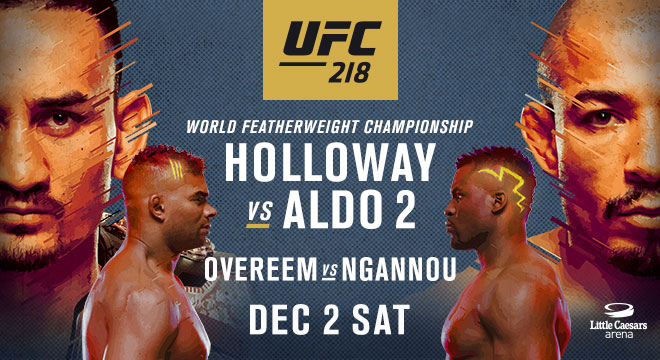 UFC 218 Results: Aldo vs. Holloway 2