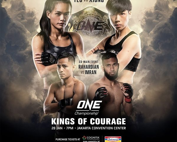 Tiffany Teo and Xiong Jing Nan to compete for inaugural ONE women's strawweight world title