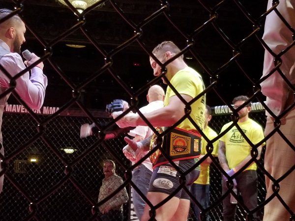 Maverick MMA 4 Results – Scott Heckman vs. Myron Baker
