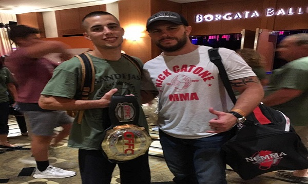 "CFFC bantamweight champion Ricky Bandejas – ""I'm ready for the next level"""