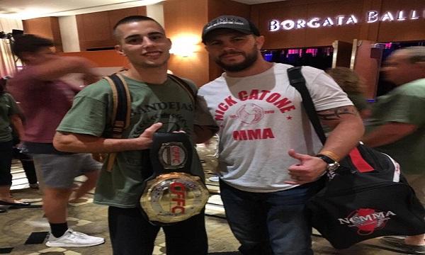 CFFC bantamweight champion Ricky Bandejas