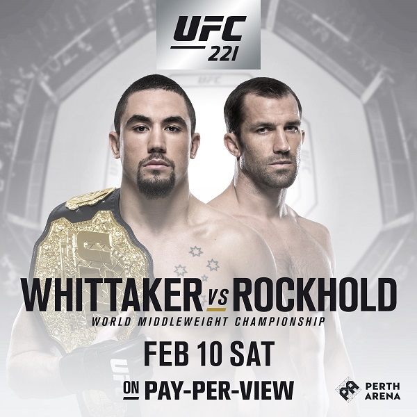 Georges St-Pierre vacates title, Whittaker now champ, defends against Rockhold