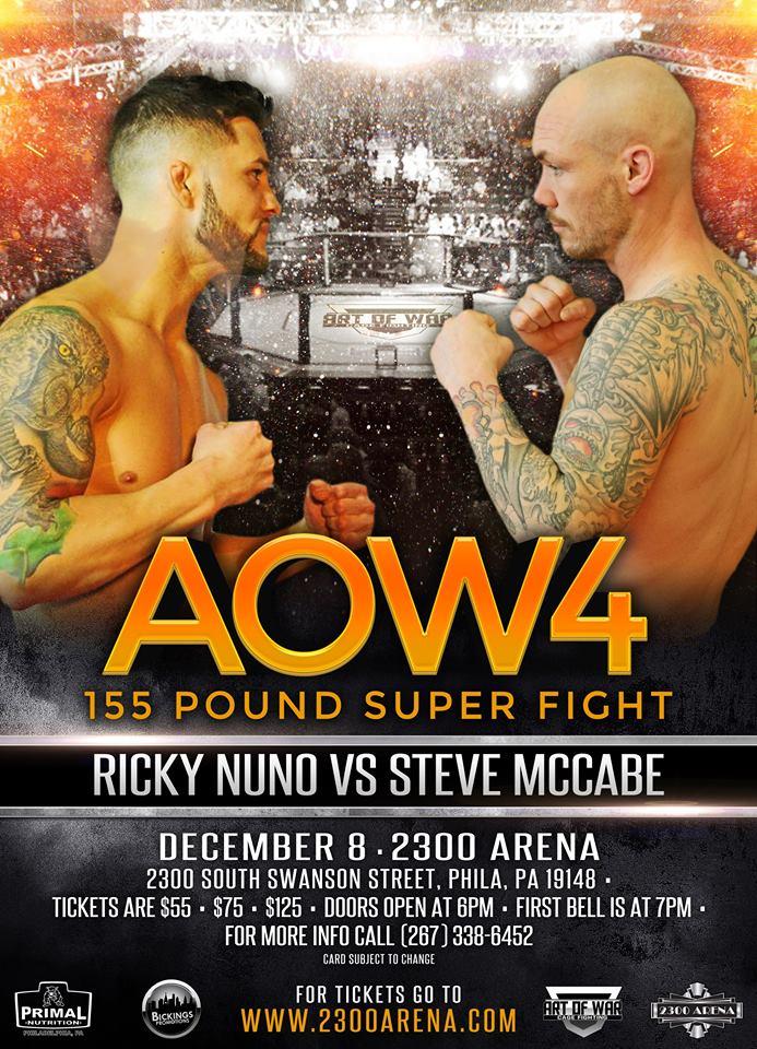 Steve McCabe vs Rick Nuno