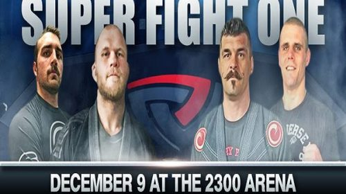 Super Fight Grappling League 1 results from 2300 Arena