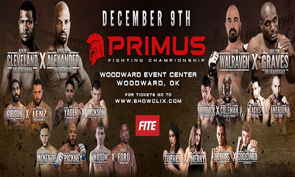 Primus Fighting Championship - Primus FC: Rakim Cleveland vs Houston Alexander