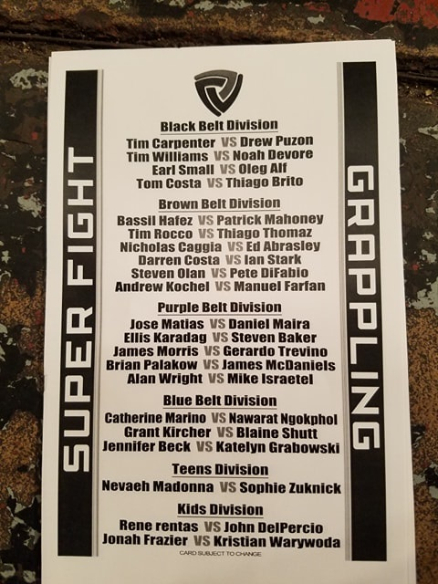 Super Fight Grappling League 1Super Fight Grappling League 1