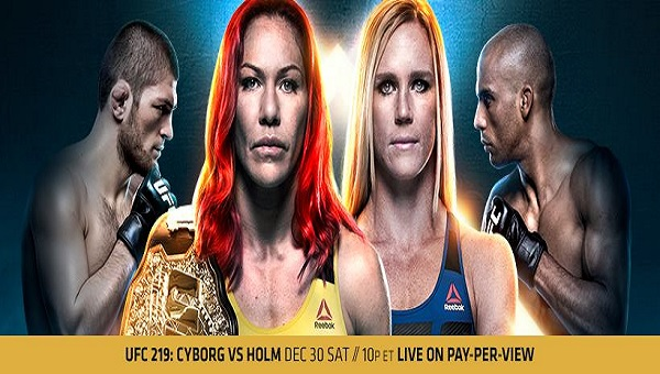UFC 219 Results – Cris Cyborg vs. Holly Holm