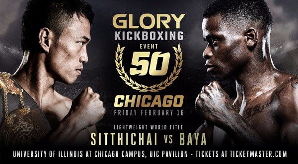 'Killer Kid' vs. 'Bad News' Headlines GLORY 50 SuperFight Series