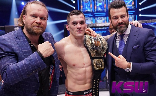 KSW 41 results - Roberto Soldic wins championship with TKO win