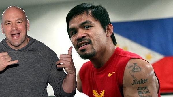 UFC President Dana White threatens to sue Manny Pacquiao