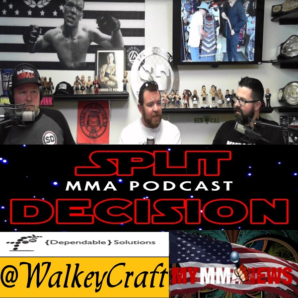 Split Decision MMA Podcast - MayMac numbers, Covington ruins Star Wars, more