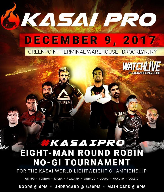 Kasai Pro, Gordon Ryan, Kasai Pro results
