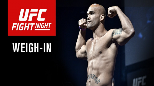 UFC on FOX 26 weigh-in results – Ceremonial weigh-in video