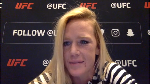 WATCH: Holly Holm on Facebook Live