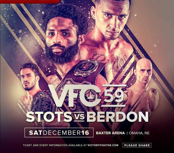 Raufeon Stots vs. Arnold Berdon headlines VFC 59, main card finalized