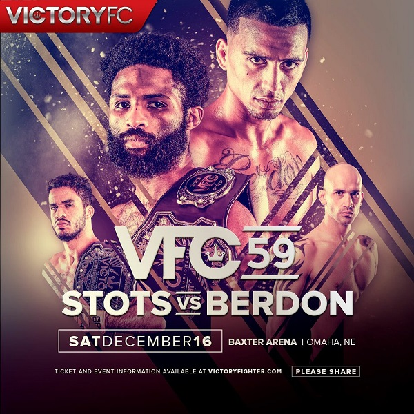 Raufeon Stots vs. Arnold Berdon headlines VFC 59, main card finalized