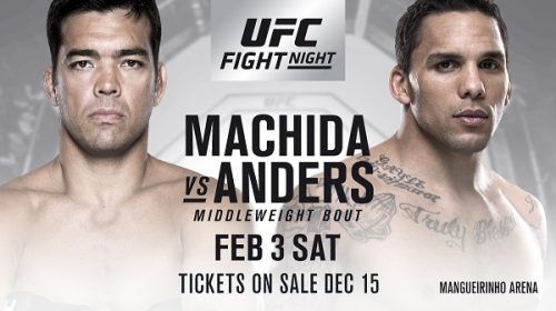 Eryk Anders gets his wish – Fights Lyoto Machida in Brazil headliner