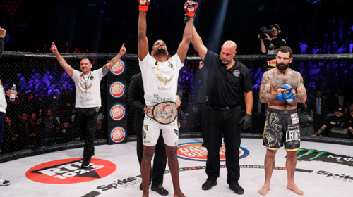 Rafael Carvalho retains Bellator middleweight title in Italy