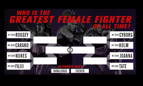 Who is the greatest female fighter of all time?