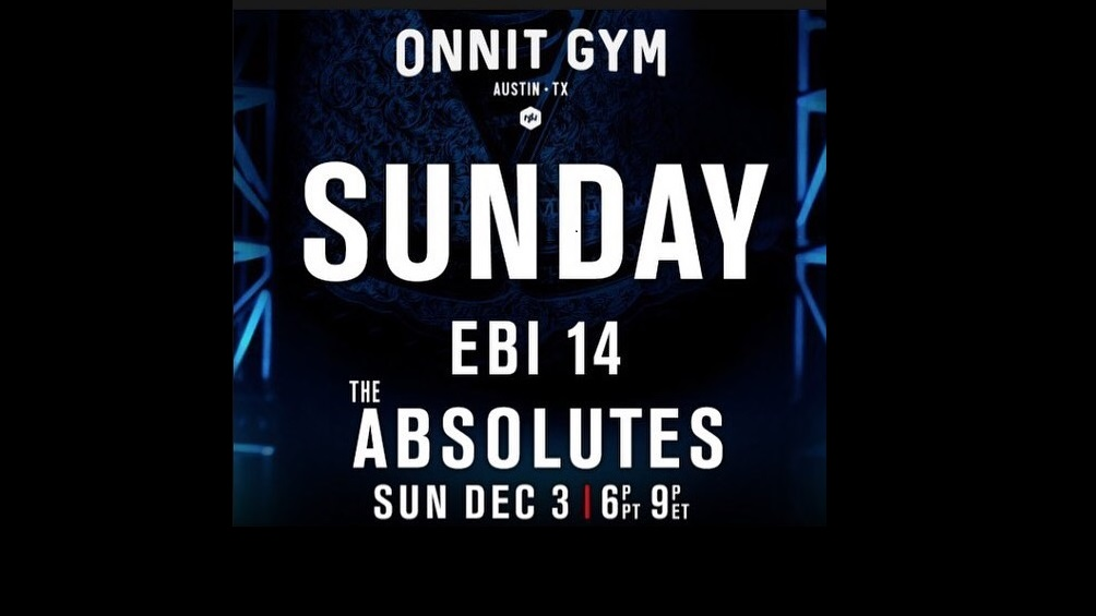 Eddie Bravo Invitational 14 – EBI 14 - The Absolutes Preview