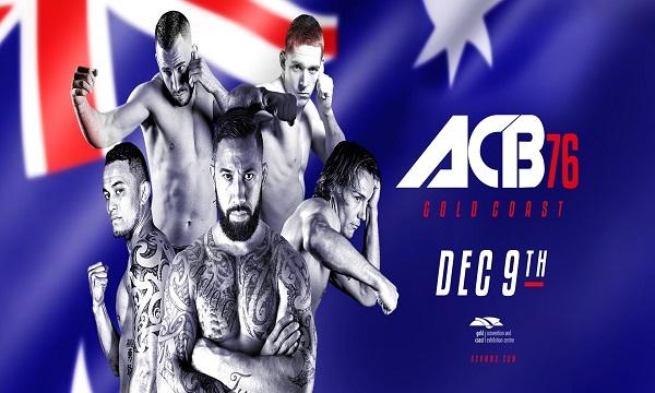 ACB 76 - Live FREE stream from Gold Coast, Australia