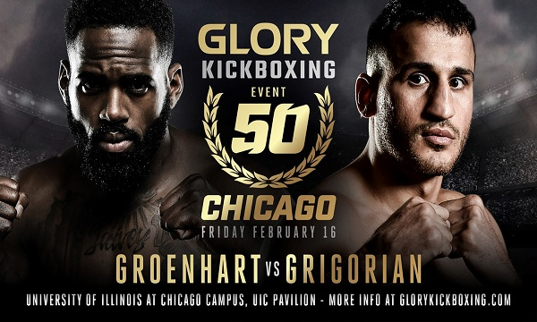GLORY 50 Results – Murthel Groenhart vs Hairut Grigorian from Chicago