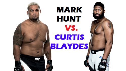 Mark Hunt vs Curtis Blaydes set for UFC 221 in Perth, Australia
