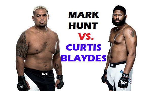 Mark Hunt vs Curtis Blaydes set for UFC 221 in Perth, Australia