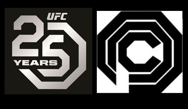 Did the UFC shape it's new logo from RoboCop's OmniCorp design?