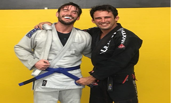 CM Punk earns BJJ blue belt – Return to UFC in 2018?