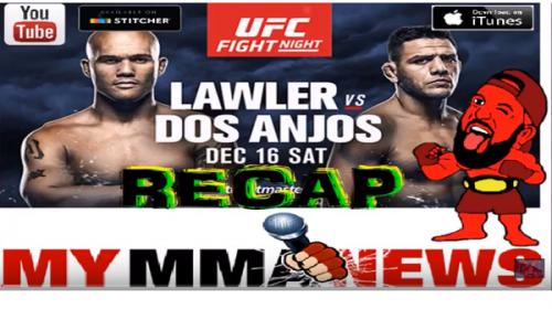 UFC Winnipeg RECAP SHOW!!!!