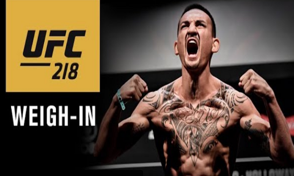 UFC 218 weigh-in results - Aldo vs. Holloway 2