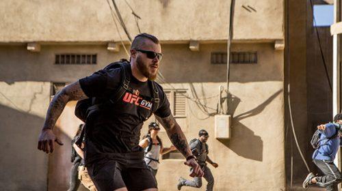 Bear Grylls Survival Challenge and UFC Gym Partner on Survival Training