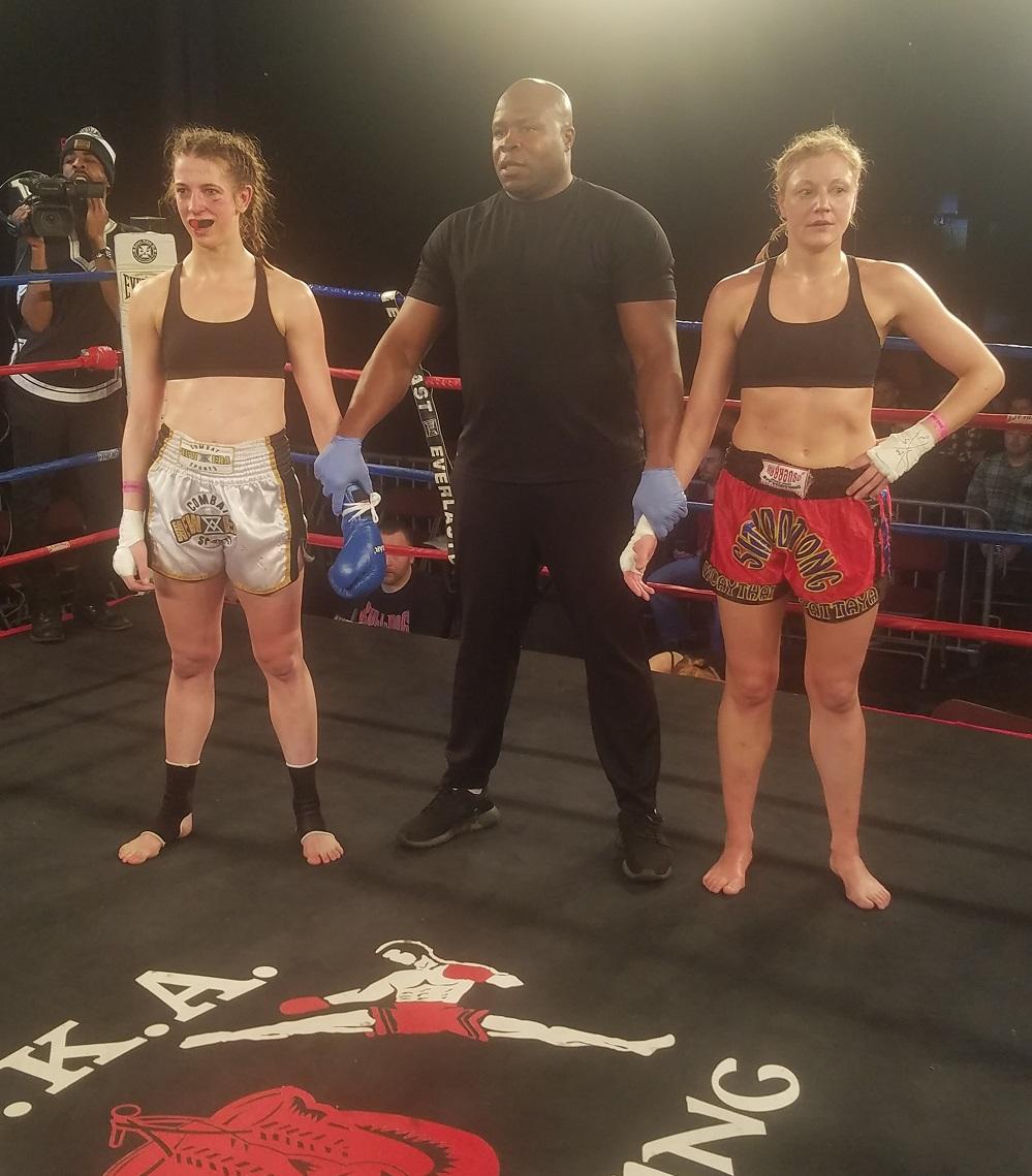 Lisa Edinger, USKA Fight Night Philly 2