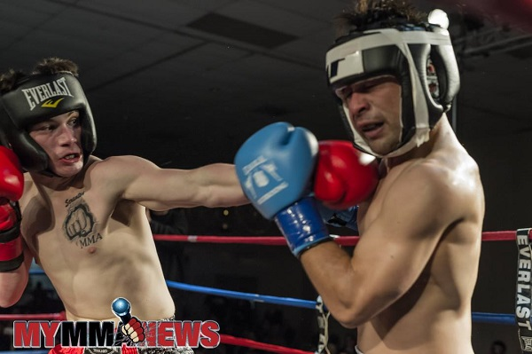 Jesse Burke continuing to work craft as he prepares for USKA Fight Night