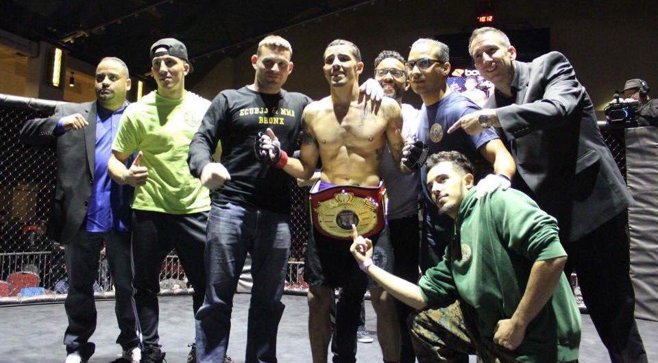 ACC Flyweight Champion Brandon Medina