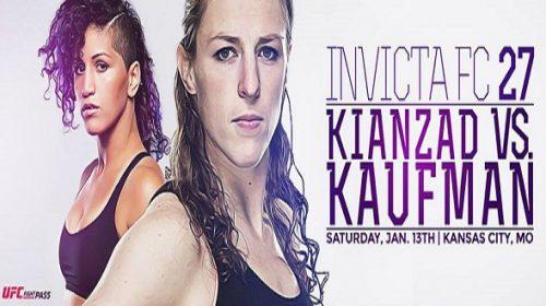 Invicta FC 27 results – Sarah Kaufman vs. Pannie Kianzad