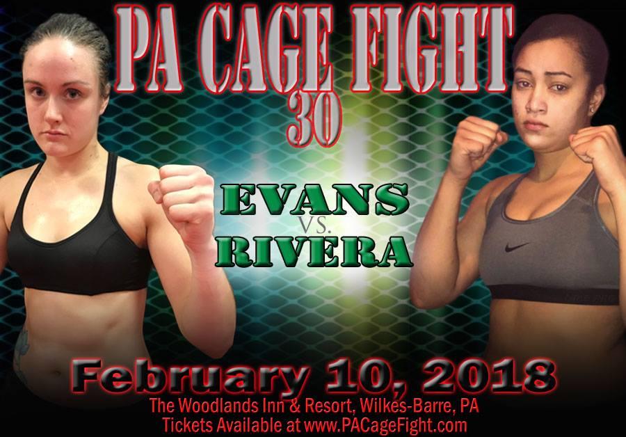 Rebecca Evans, PA Cage Fight 30