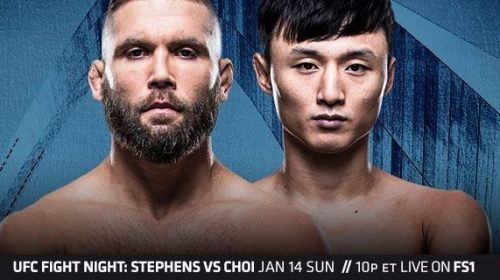 UFC Fight Night 124 Results – Stephens vs. Choi