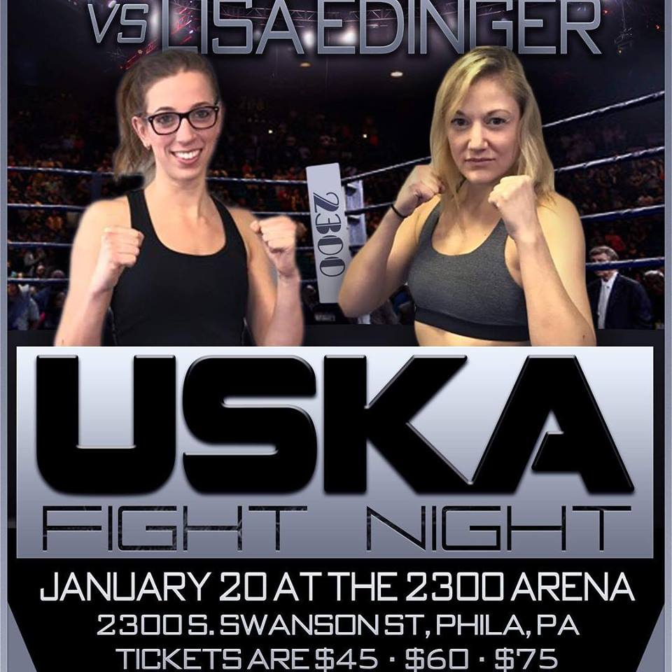 Lisa Edinger, USKA Fights