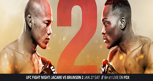 UFC on FOX 27 Results - Souza vs Brunson 2