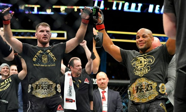 Champions Stipe Miocic & Daniel Cormier to coach TUF 27, fight for UFC heavyweight title