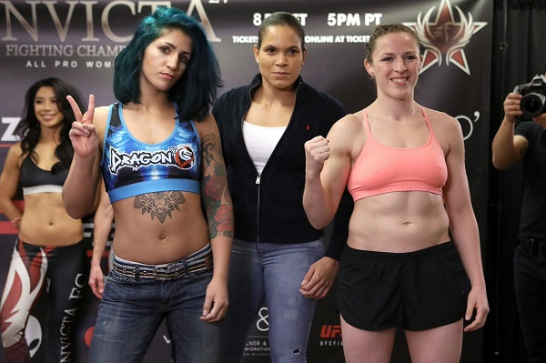 Invicta FC 27 weigh-in results – Two fighters miss weight, fined