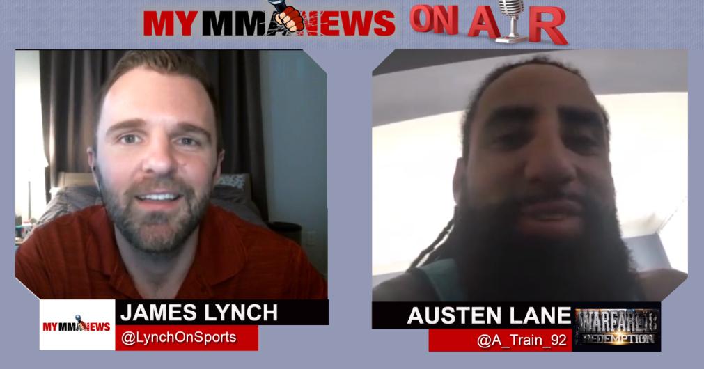 Former NFL Player Austen Lane Talks Warfare MMA 18 Matchup, Gives Super Bowl LII Prediction